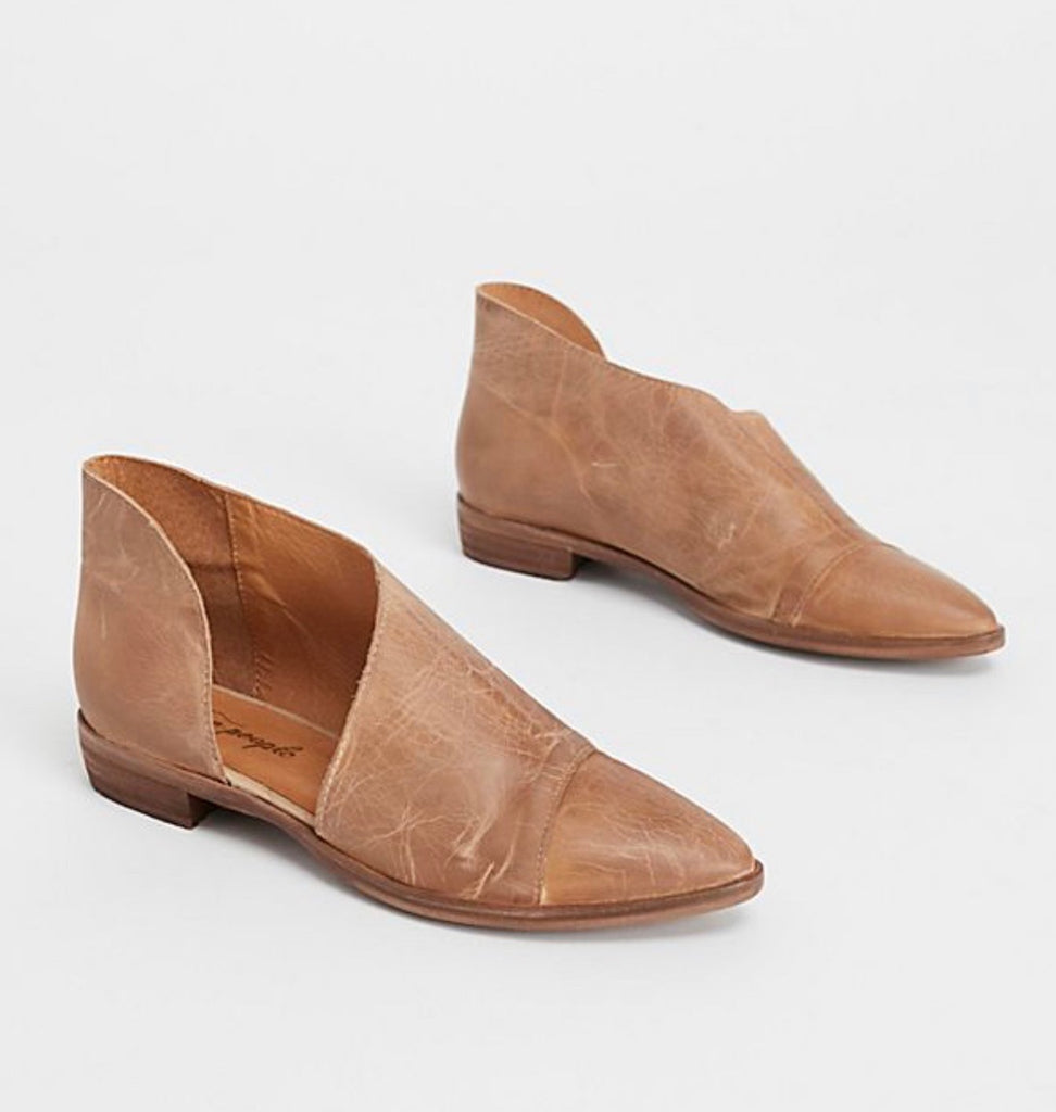 Free People Royale Flat in Brown-Free People-The Bugs Ear