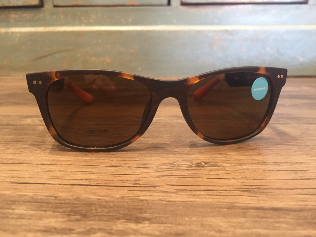Toms Sunglasses Beachmaster 301 Matte Tortoise-Toms-The Bugs Ear