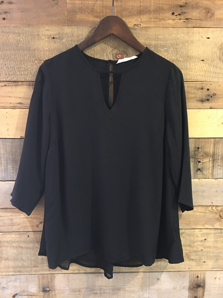 Jack BBD Luray Sheer Black Top-Jack BBD-The Bugs Ear
