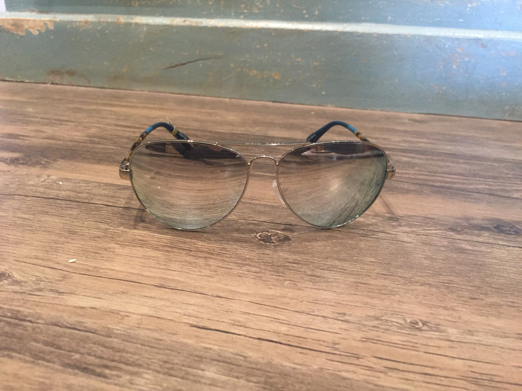 Toms Sunglasses Maverick 201 Shiny Silver Grey Blonde-Toms-The Bugs Ear