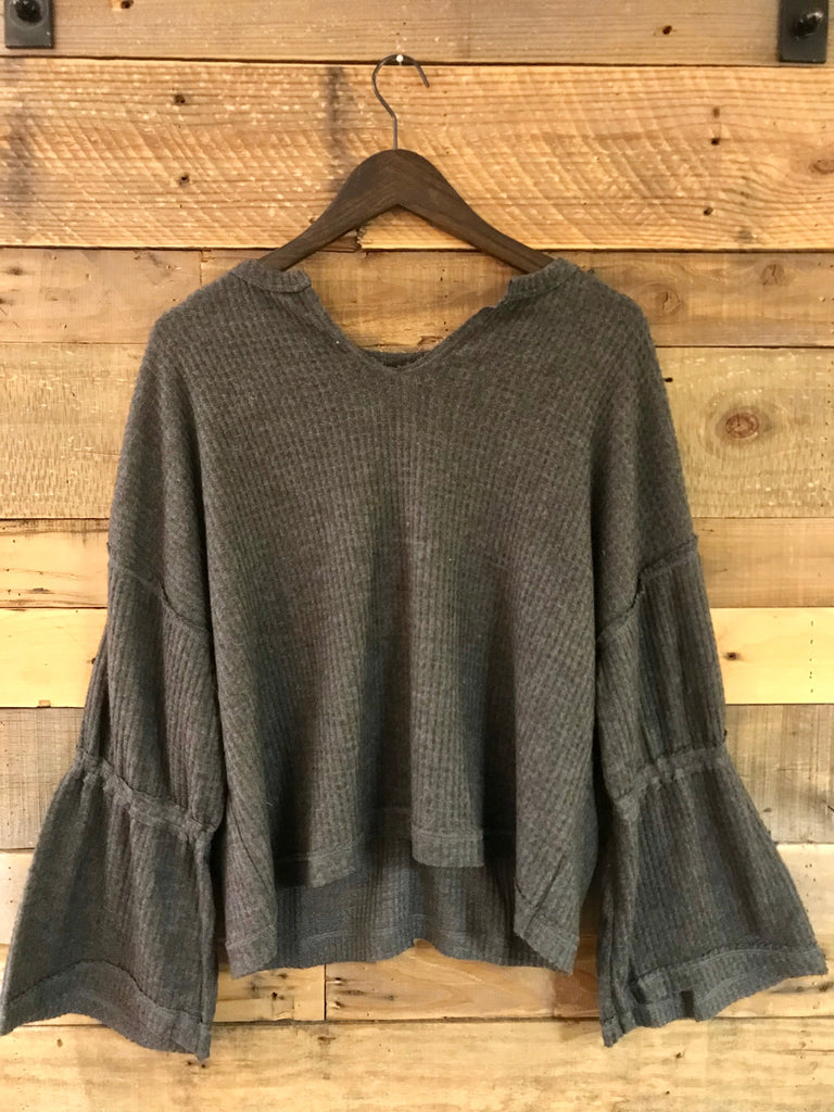 Melody Top Off Shoulder Long Sleeve-Elan-The Bugs Ear