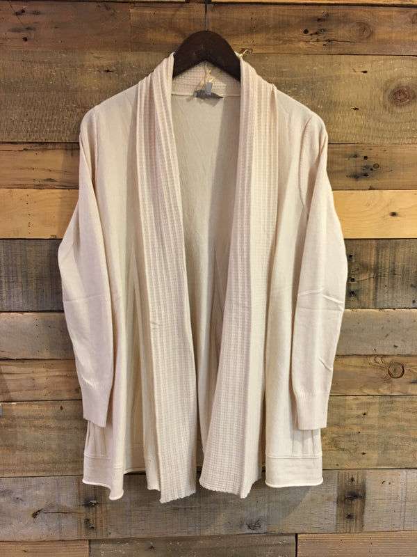 Lydia Long Ivory Cardigan Sweater-Laju-The Bugs Ear