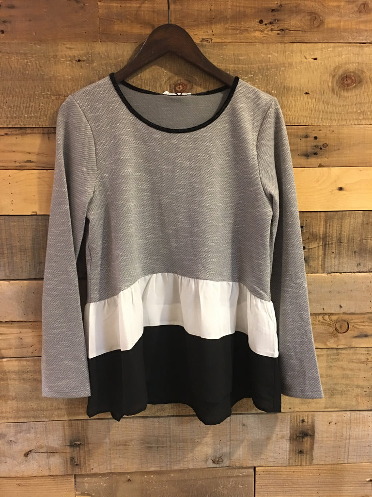 Hayden Colorblock Sweater-THML-The Bugs Ear