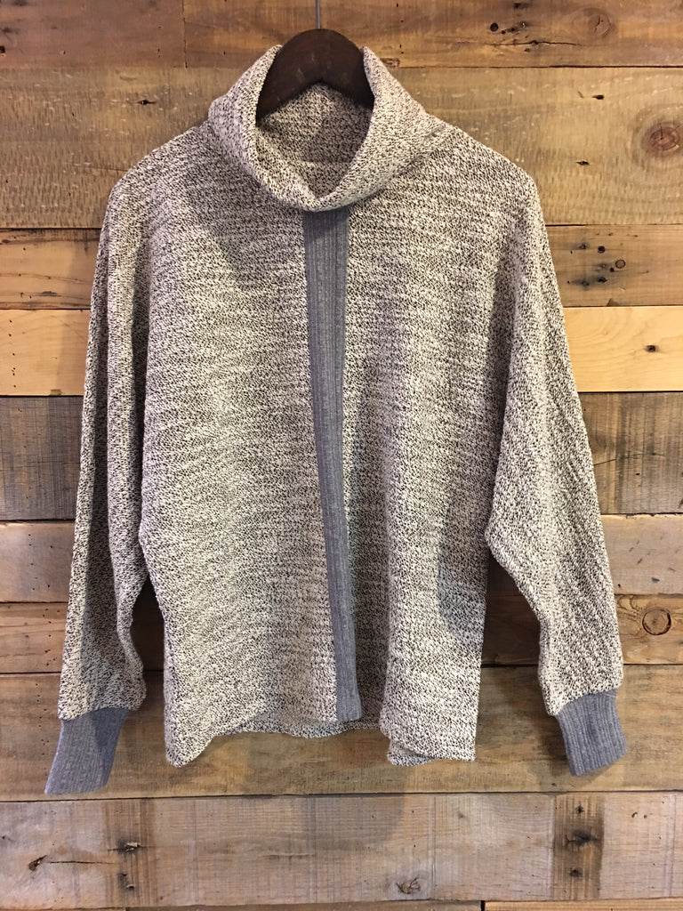 January Speckled Turtleneck Sweater-THML-The Bugs Ear