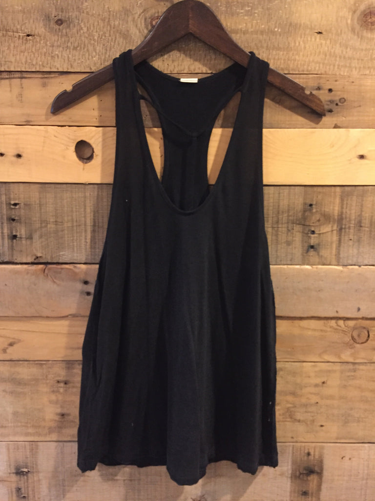 Free People Amelia Tank in Black-Free People-The Bugs Ear