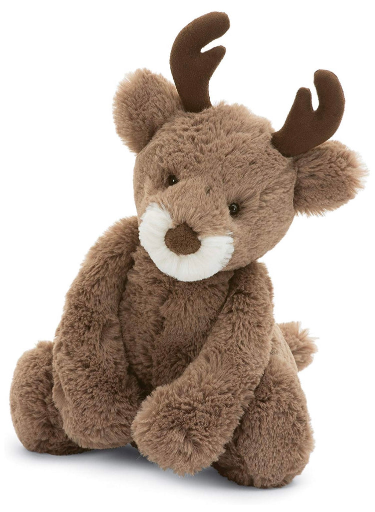 Jellycat Medium Bashful Reindeer 2-Jellycat-The Bugs Ear