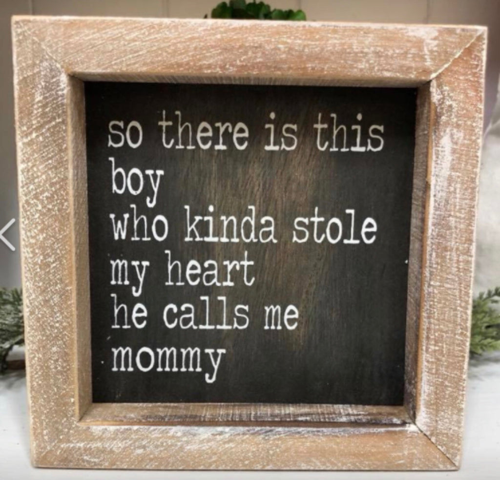 He Calls Me Mommy Frame-Greenbox-The Bugs Ear