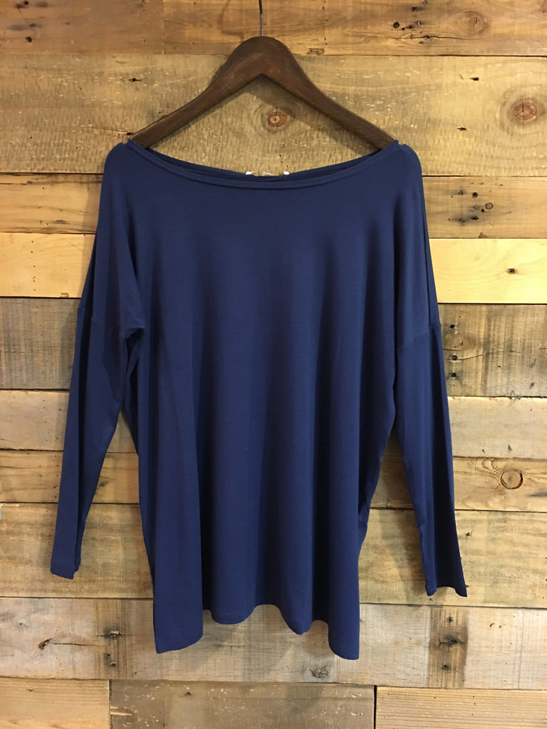 Lea Navy Piko Top-Joy Joy-The Bugs Ear