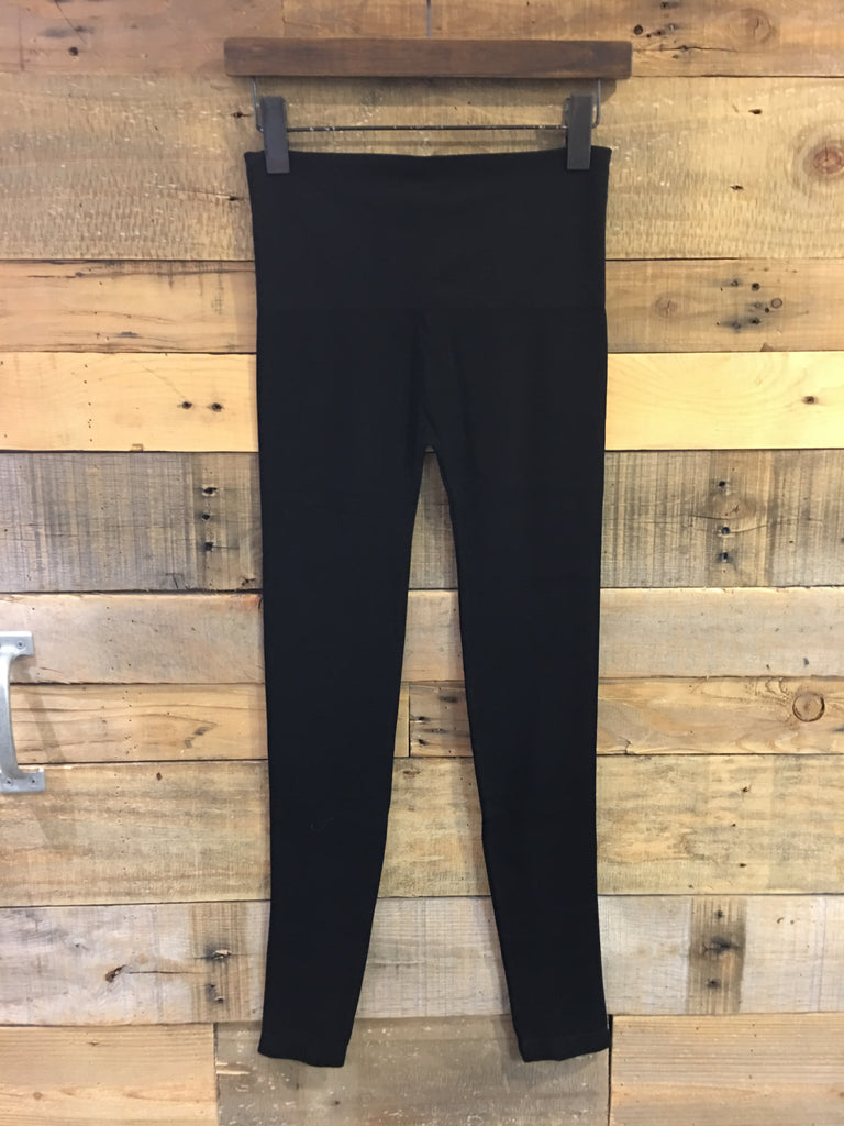 Seamless High Waist Leggings Black-Elietian-The Bugs Ear