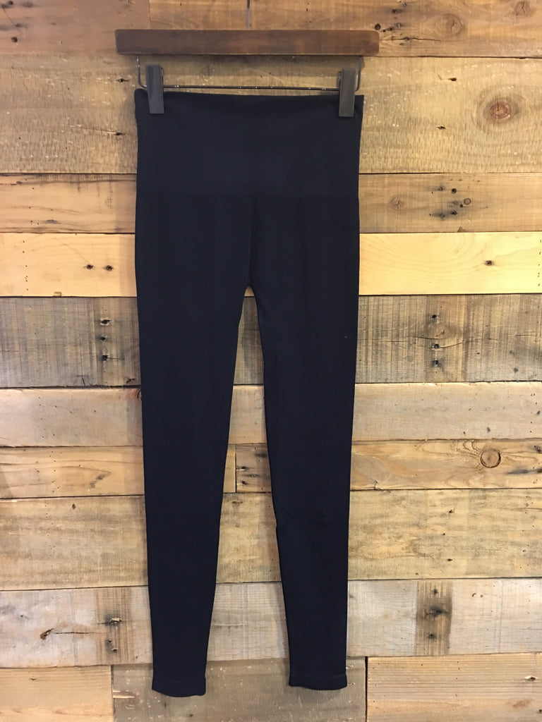 Seamless High Waist Leggings Navy-Elietian-The Bugs Ear
