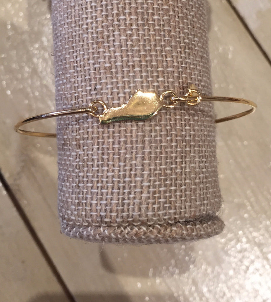 Kentucky State Bracelet Gold-Stia Couture-The Bugs Ear