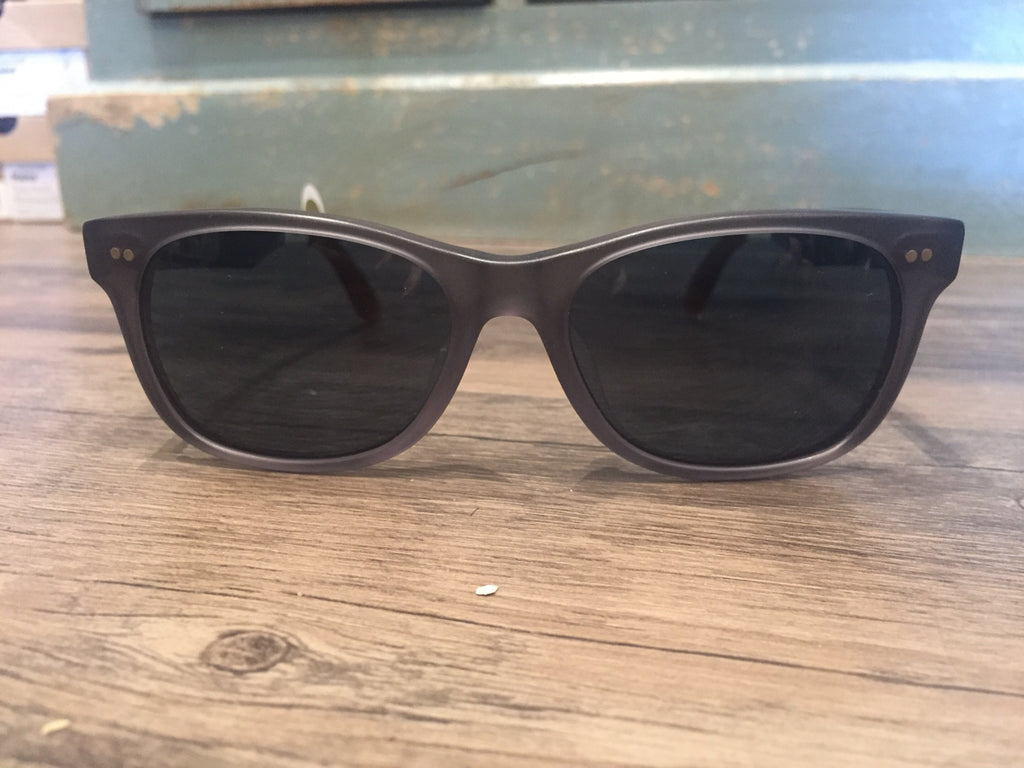 Toms Sunglasses Beachmaster 301 Matte Slate Grey-Toms-The Bugs Ear