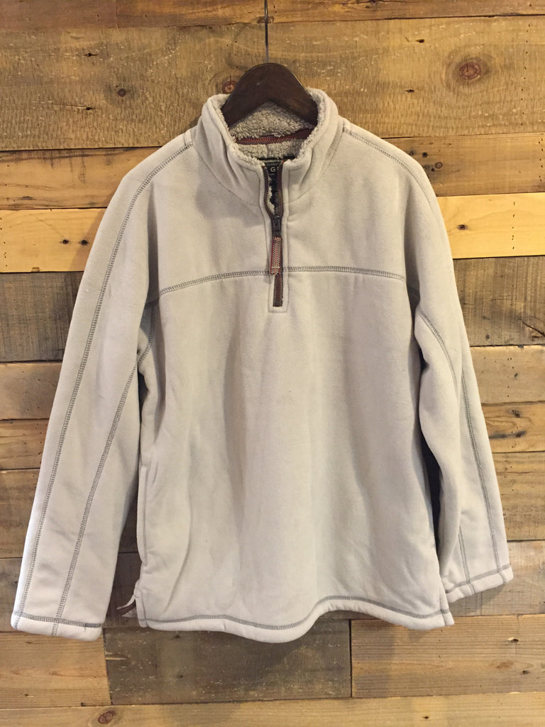 Faded Heather True Grit Bonded Polar Fleece & Sherpa Pullover-True Grit-The Bugs Ear