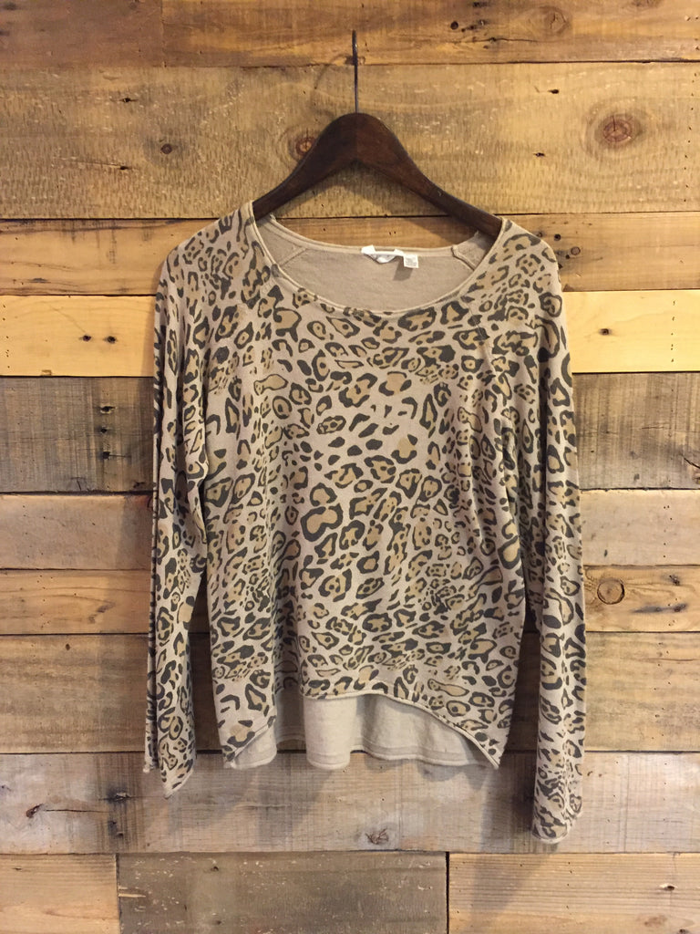 Madison Leopard Print Lightweight Sweater-RD Style-The Bugs Ear