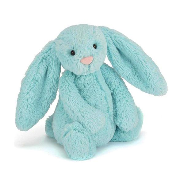 Jellycat Bashful Bunny Aqua Small-Jellycat-The Bugs Ear