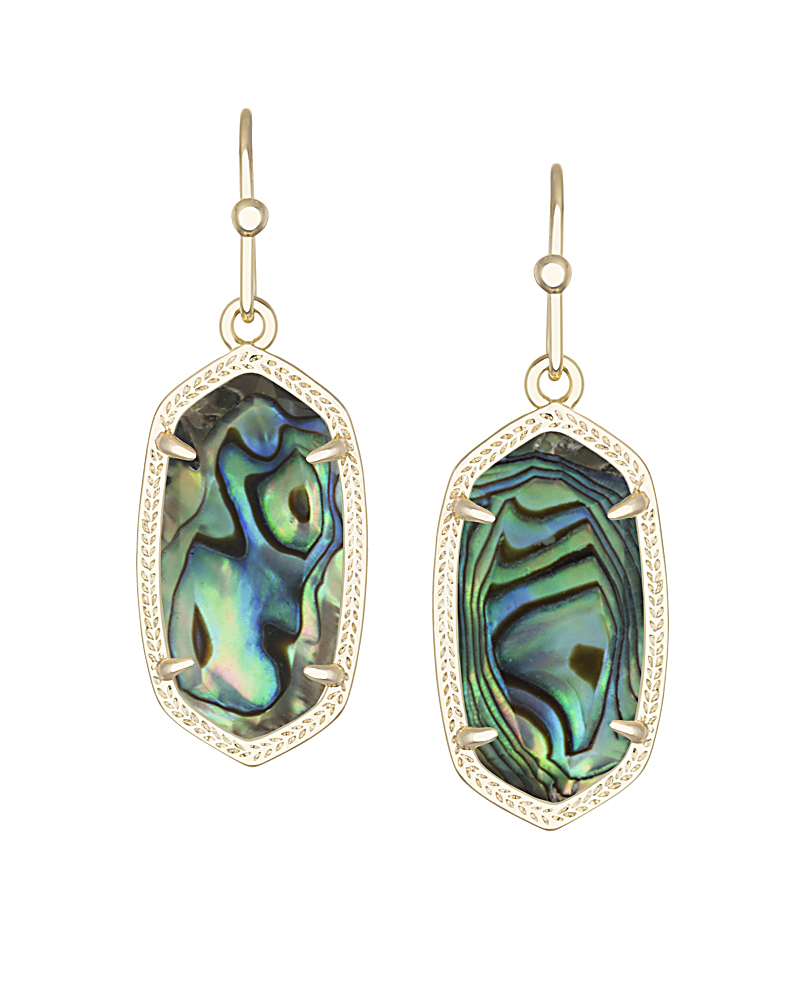 Kendra Scott Dani Earrings in Abalone-Kendra Scott-The Bugs Ear