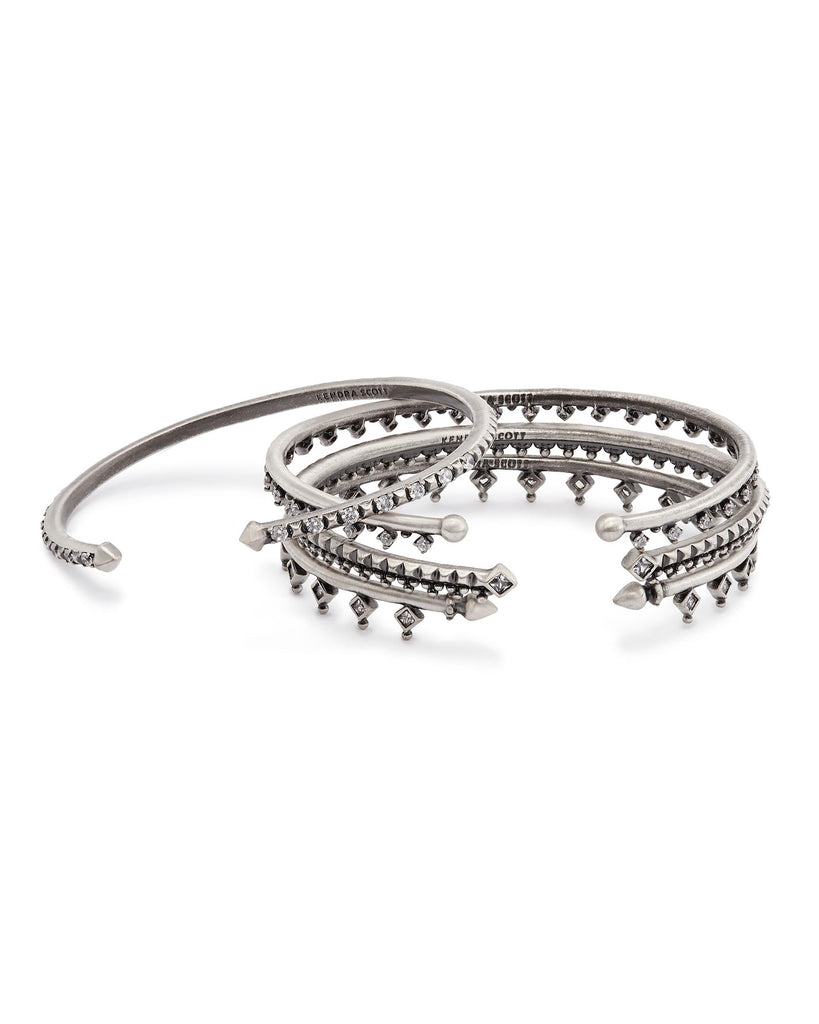 Kendra Scott Delphine Bracelet Set in Antique Silver-Kendra Scott-The Bugs Ear