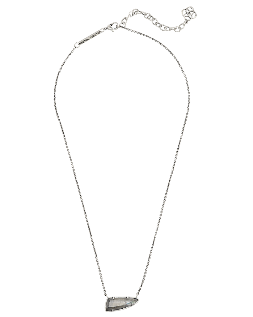 Kendra Scott Etta Pendant Necklace In Grey Pearl-Kendra Scott-The Bugs Ear