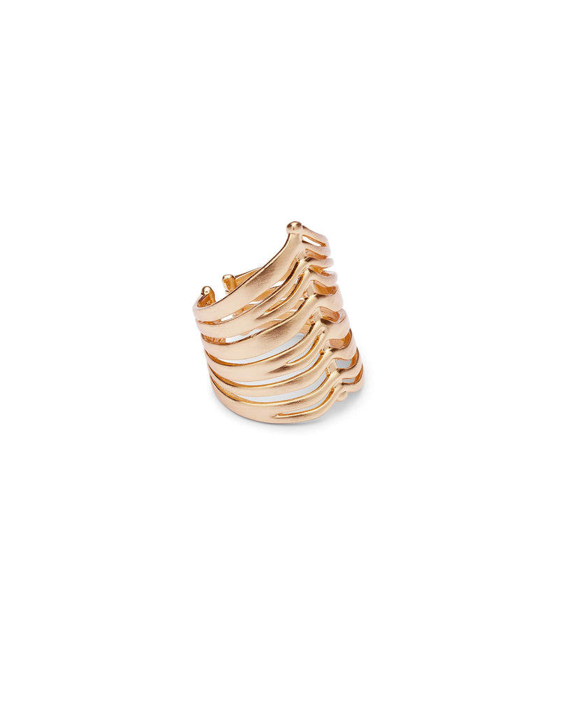 Kendra Scott Liv Cocktail Ring In Rose Gold-Kendra Scott-The Bugs Ear