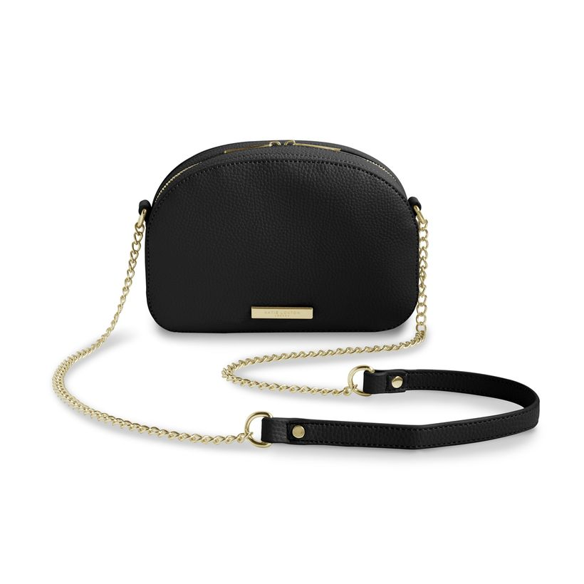 Katie Loxton Half Moon Bag in Black-Katie Loxton-The Bugs Ear