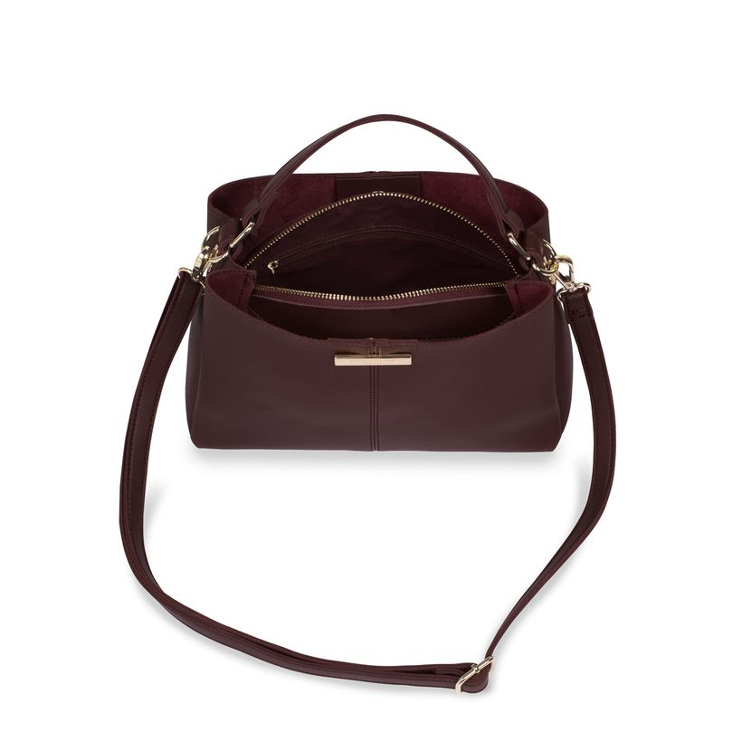 Katie Loxton Myla Day Bag in Mulberry-Katie Loxton-The Bugs Ear
