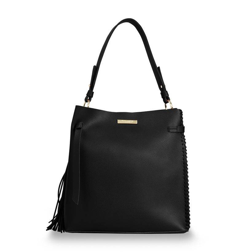 Katie Loxton Florrie Day Bag in Charcoal-Katie Loxton-The Bugs Ear