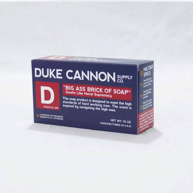 Duke Cannon Big Ass Brick of Soap Naval Supremacy-Duke Cannon-The Bugs Ear