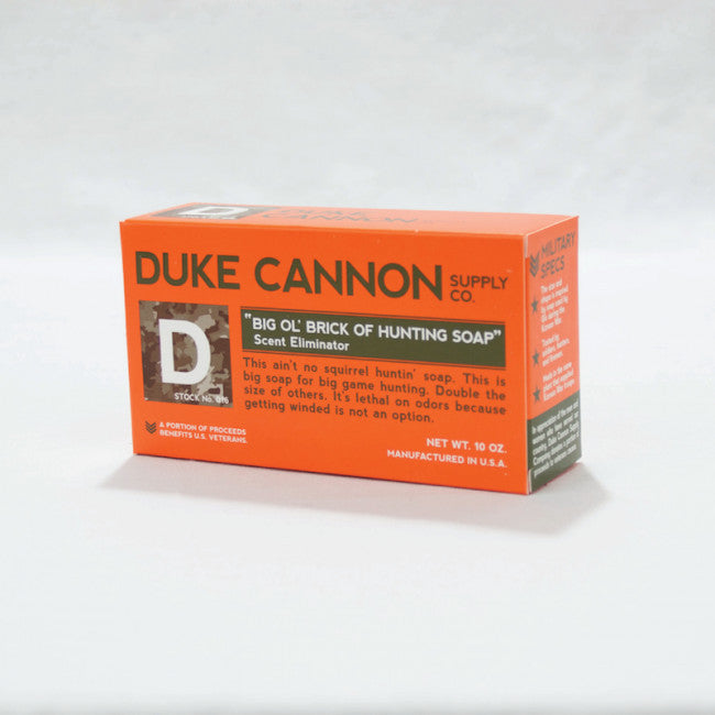 Duke Cannon Big Ol' Brick of Hunting Soap-Duke Cannon-The Bugs Ear