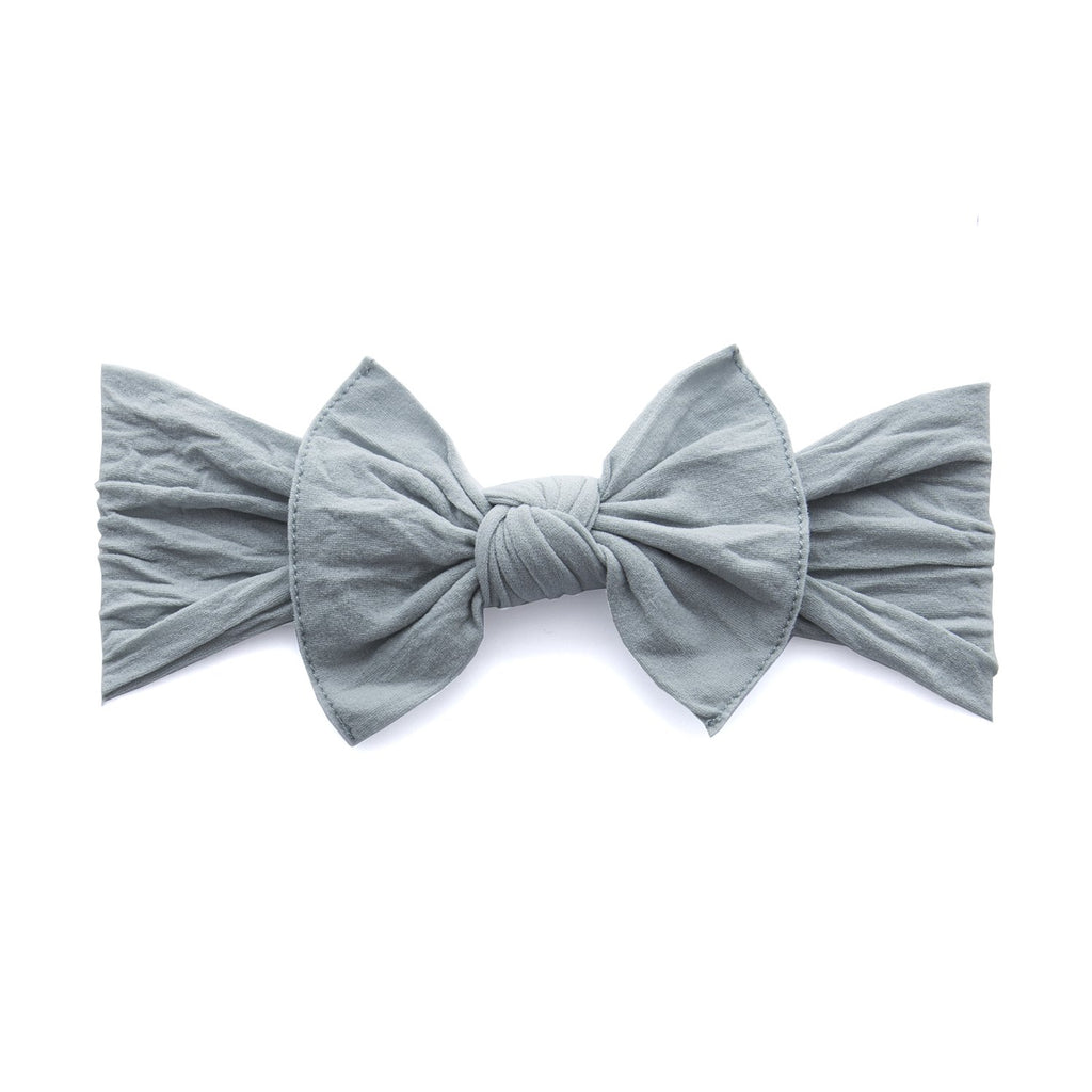 Baby Bling Bow Knot Grey-Baby Bling-The Bugs Ear