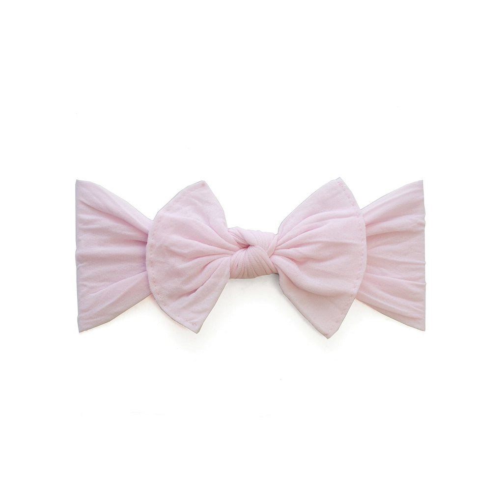 Baby Bling Itty Bitty Knot Bow Pink-Baby Bling-The Bugs Ear