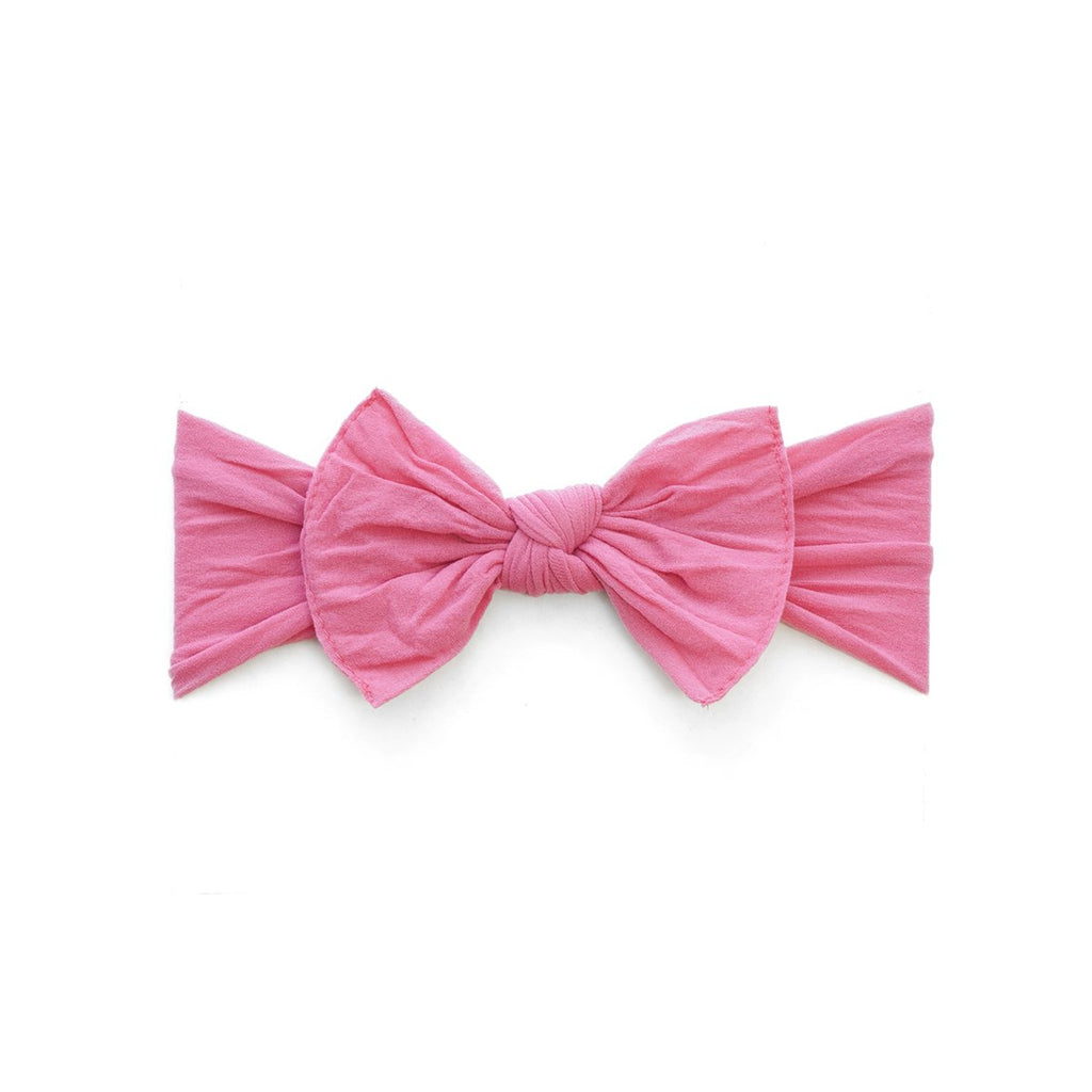 Baby Bling Itty Bitty Knot Bow Bubblegum-Baby Bling-The Bugs Ear