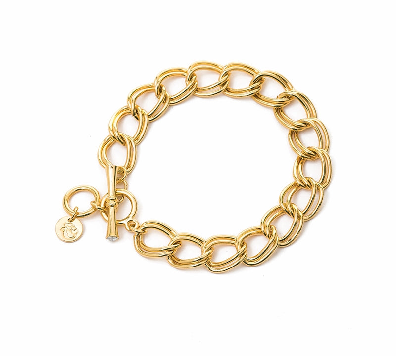 Spartina Curb Chain Toggle Bracelet-Spartina-The Bugs Ear