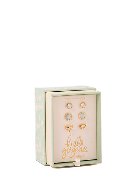 Spartina Oh So Witty Earring Box Set Hello Gorgeous-Spartina-The Bugs Ear