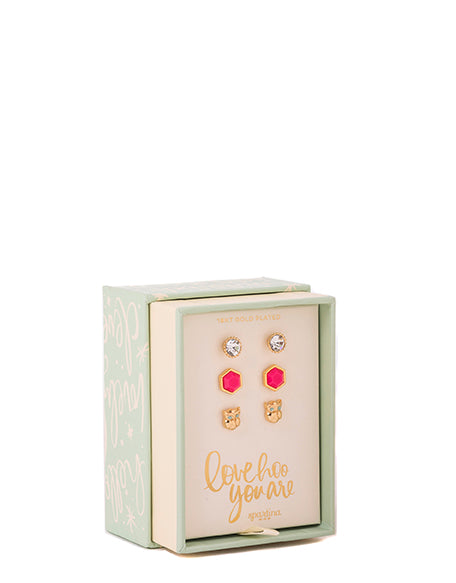 Spartina Oh So Witty Earring Box Love Hoo-Spartina-The Bugs Ear