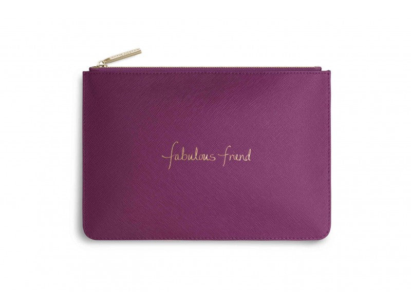 Katie Loxton Fabulous Friend Perfect Pouch in Cerise Pink-Katie Loxton-The Bugs Ear