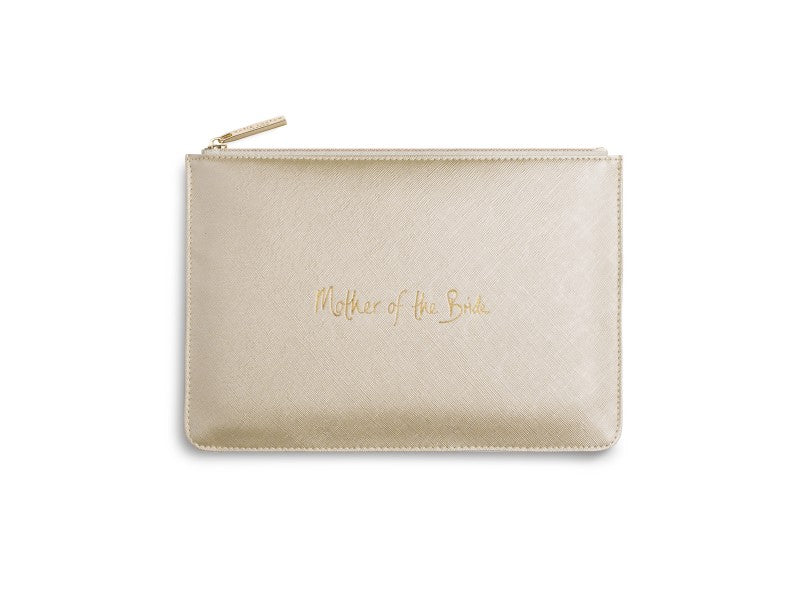 Katie Loxton Mother of Bride Perfect Pouch in Metallic Gold-Katie Loxton-The Bugs Ear