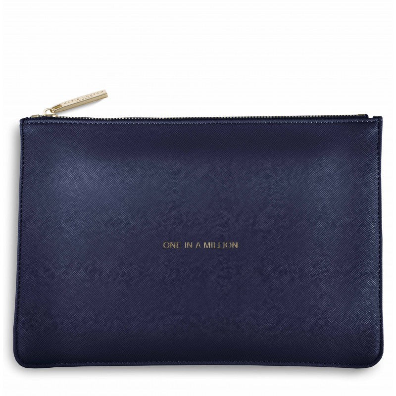Katie Loxton One in a Million Perfect Pouch in Navy-Katie Loxton-The Bugs Ear