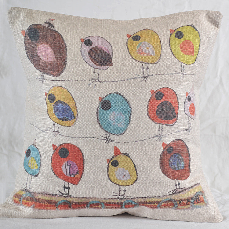 Southern Roots Pillow Party Birds-Southern Roots-The Bugs Ear