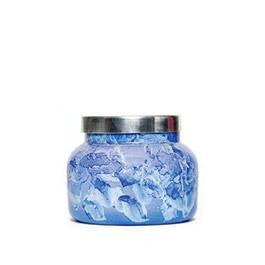 Capri Blue Blue Jean Watercolor Lilac Jar 8oz-Capri Blue Candles-The Bugs Ear