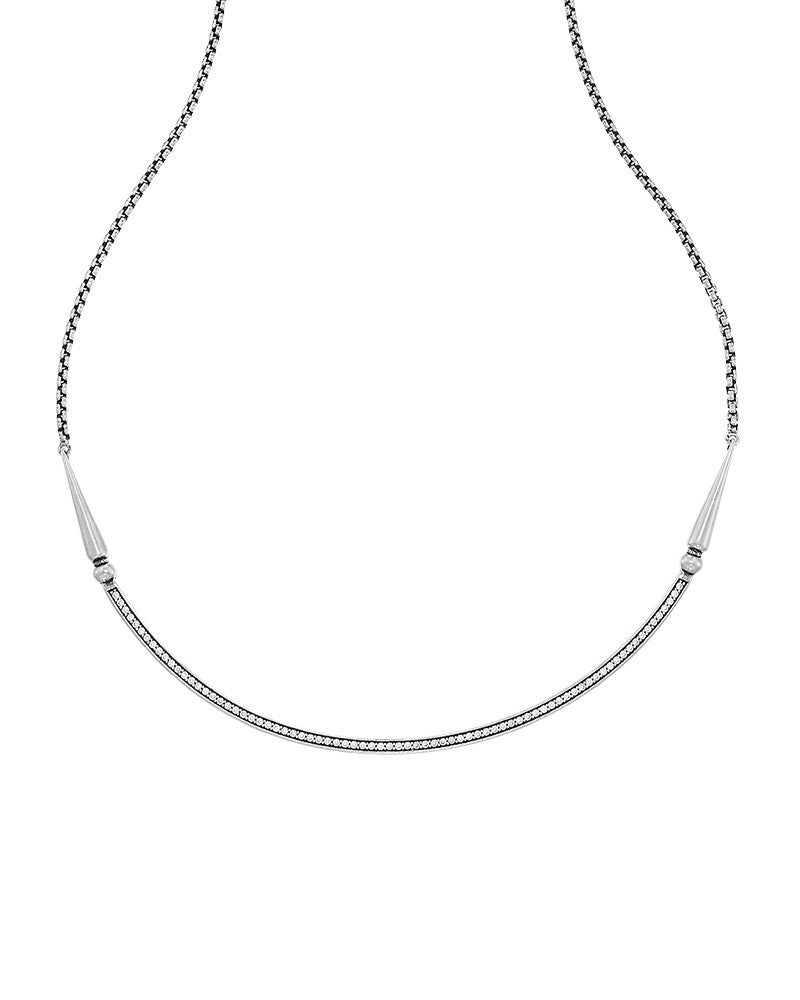 Kendra Scott Scottie Choker Necklace in Antique Silver-Kendra Scott-The Bugs Ear