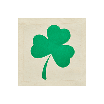 Nora Fleming Pillow Panel Irish At Heart Shamrock-Nora Fleming-The Bugs Ear