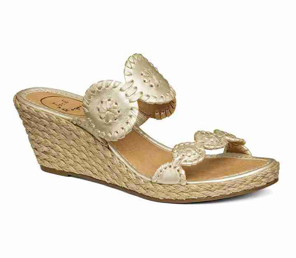 Jack Roger Shelby Sandal Platinum-Jack Rogers-The Bugs Ear