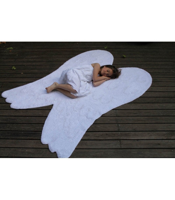 Lorena Canals Wings Silhouette Rug-Lorena Canals-The Bugs Ear