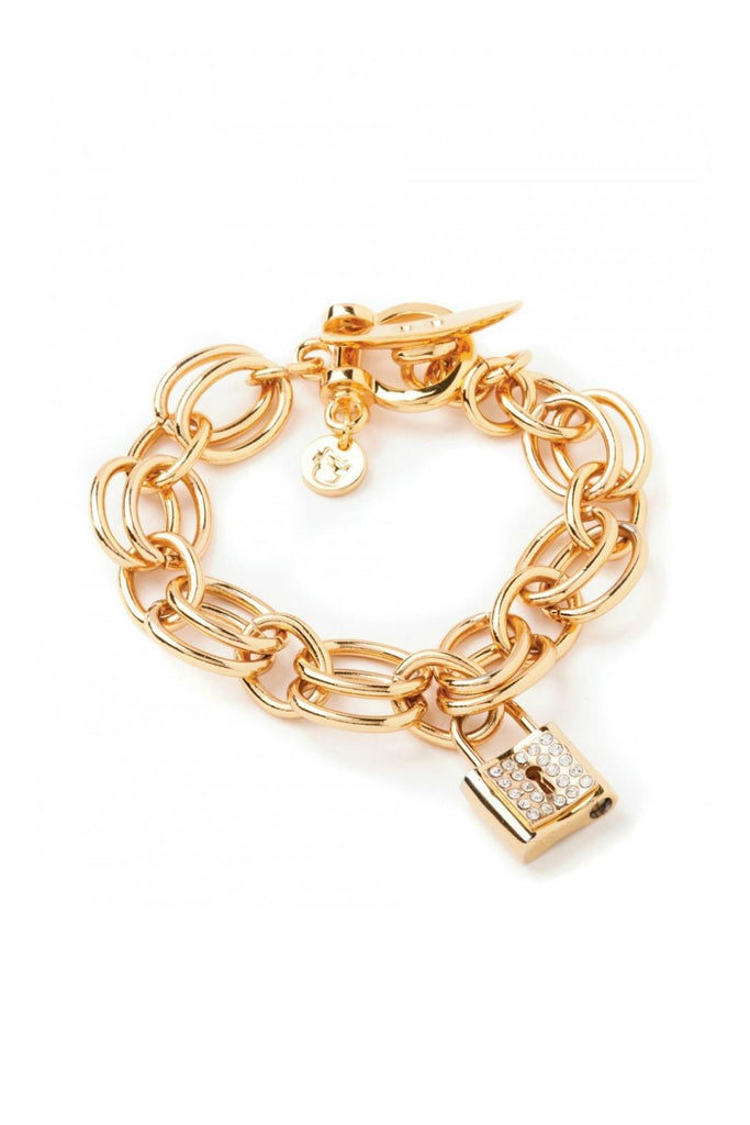 "Spartina Double Link Toggle Bracelet 7.8""-Spartina-The Bugs Ear"