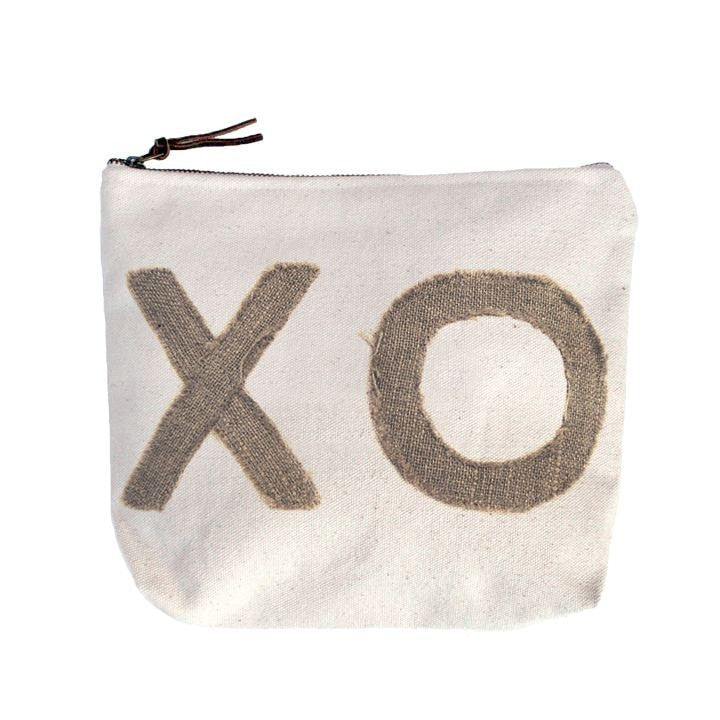 Stitched XO Canvas Bag-Sugarboo Designs-The Bugs Ear