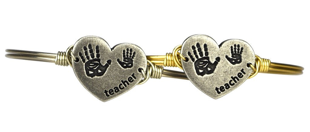 Luca and Danni Teacher Bangle-Luca + Danni-The Bugs Ear