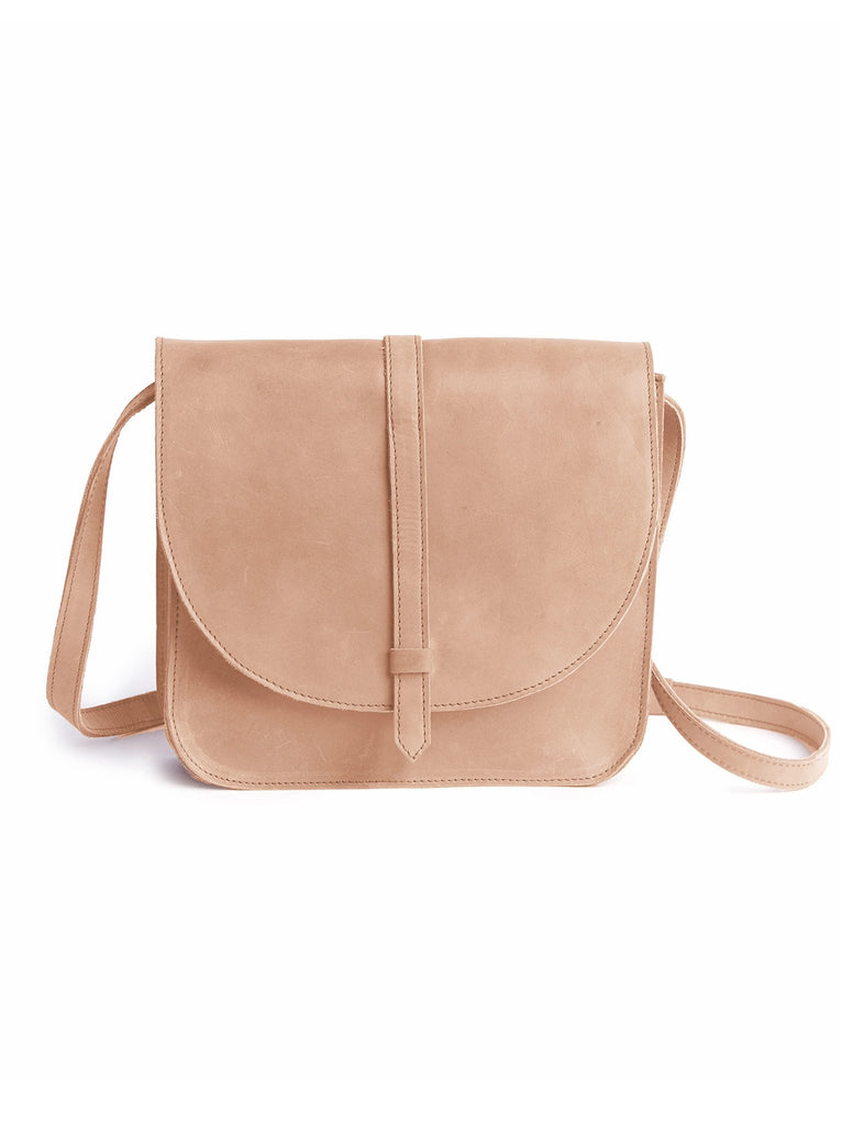 Tirhas Saddle Bag in Pale Dogwood-Fashionable-The Bugs Ear