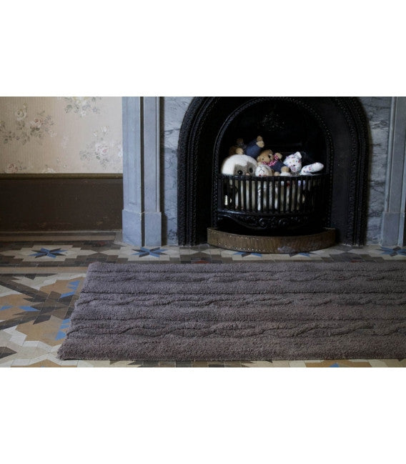Lorena Canals Braids Dark Grey Rug-Lorena Canals-The Bugs Ear