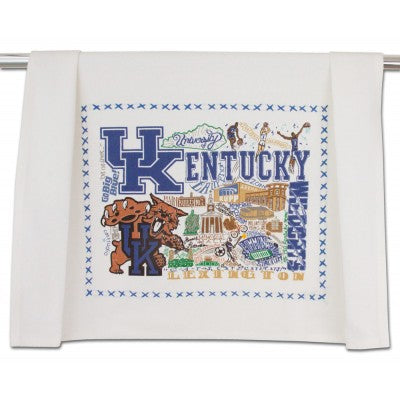 Catstudio University of Kentucky Dish Towel-Catstudio-The Bugs Ear