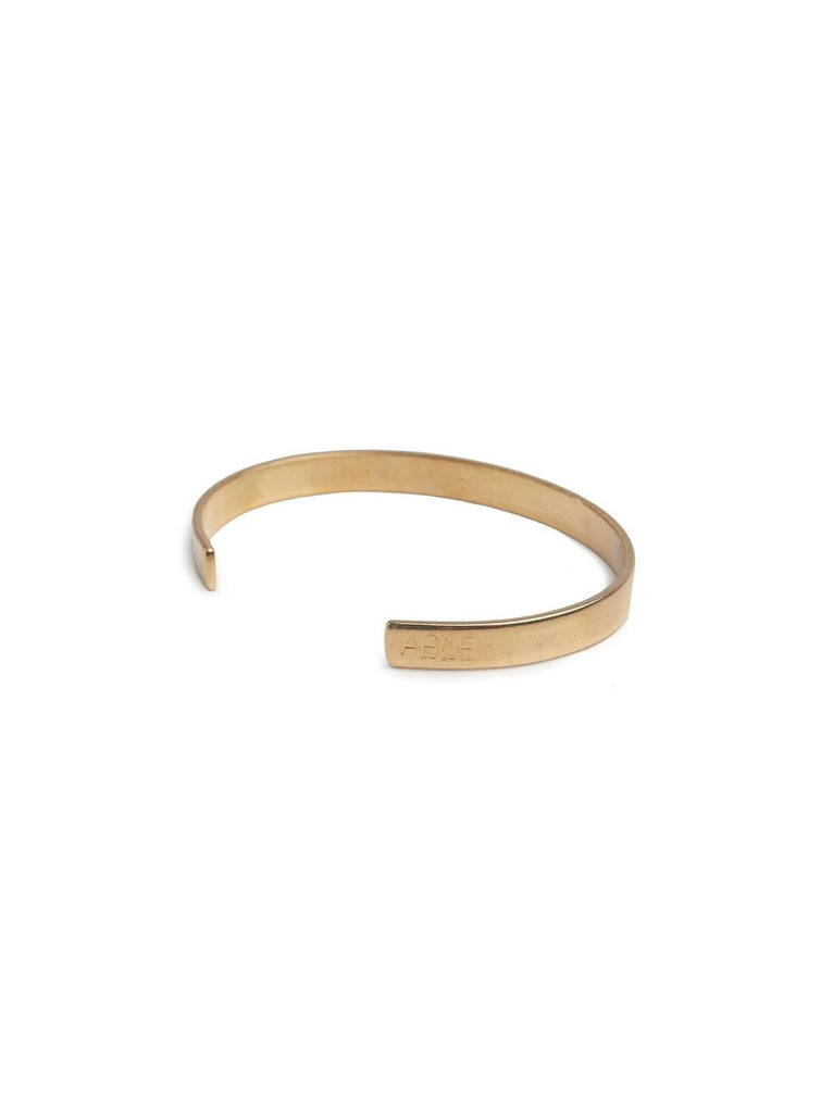Brass Able Cuff-Fashionable-The Bugs Ear